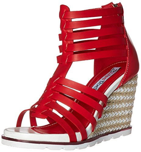 Red Humble Sandal Women Lips Wedge Too 2 Too wOR1q0