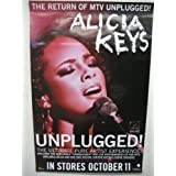 ALICIA KEYS - UNPLUGGED INSTORES POSTER 24X36 P2248