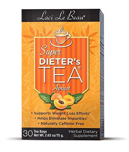 Super Dieters Apricot (Natrol Laci Le Beau Super Dieter's Tea, Apricot)