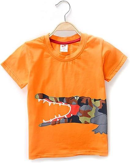 4 Modelos, Camiseta Blanca para bebé niño con Dinosaurio ...