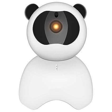 WENXX Cámara De IP Vigilancia para El Hogar Camaras para Perros 355 ° Monitoreo Panorámico Bidireccional