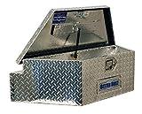 Better Built 66010148 Utility Trailer Tongue Tool Box L 39 in. x W 16.5 in. x H 12 in. Brite Aluminum Wide Utility Trailer Tongue Tool Box