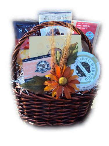 Healthy Hostess Gift Basket by Well Baskets