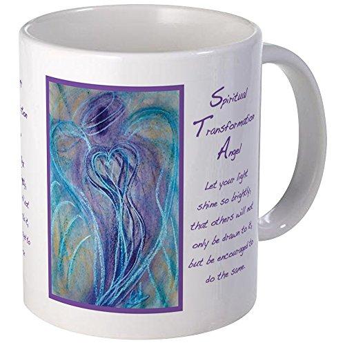 CafePress - Spiritual Transformation Angel Mugs - Unique Coffee Mug, Coffee Cup