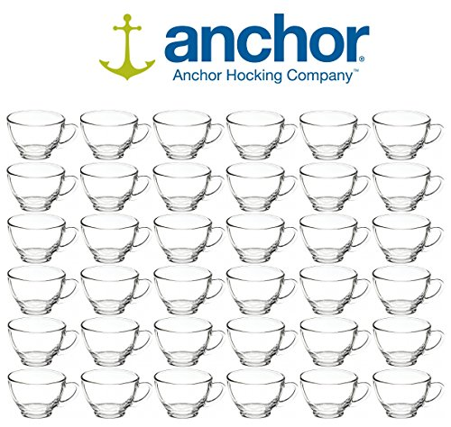 Anchor Hocking 279U 4-1/4 Inch Diameter x 2-3/8 Inch Height, 6-Ounce Punch Cup (Case of 36) (Anchor Hocking Punch)