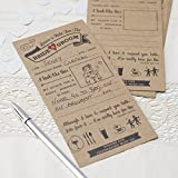 Vintage Affair - Advice for the Bride & Groom Cards