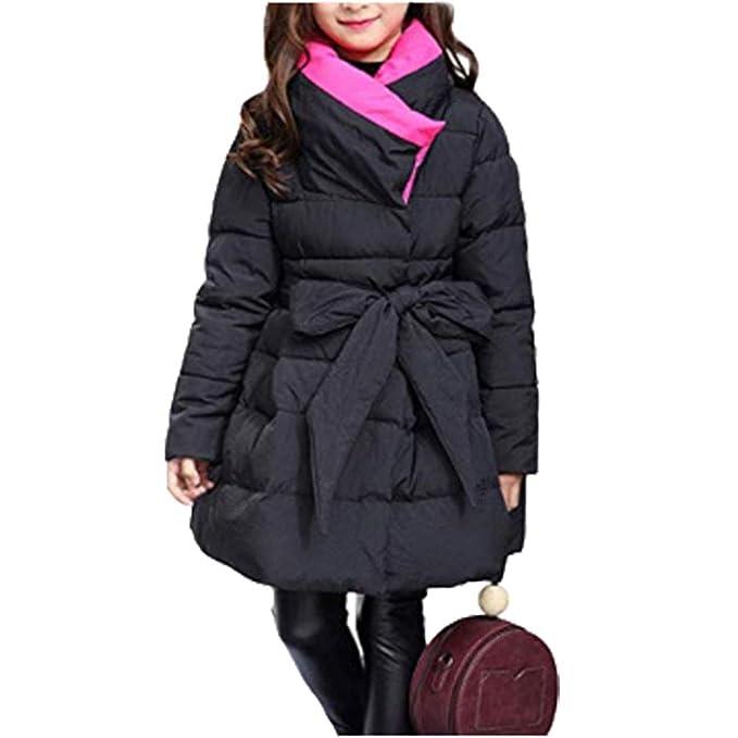 c6c9ce19c Amazon.com  Digirlsor Toddler Kids Girls Winter Parka Coats Long ...