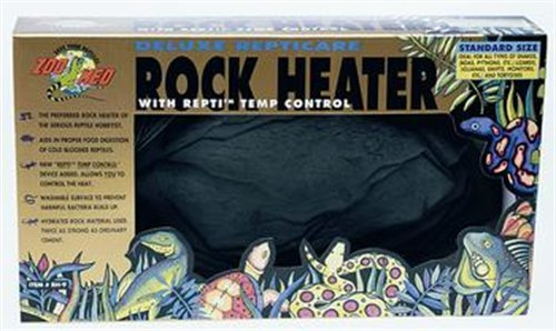 Zoo Med ReptiCare Deluxe Rock Heater, Standard Size