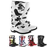 Alpinestars Tech 5 Men's Off-Road Motorcycle Boots - Red/White/Black / 12