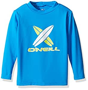 O'Neill Toddler Premium Skins UPF 50+ Long Sleeve Sun Shirt, Blue, 1
