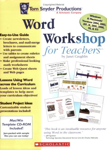 Word Workshop for Teachers Third Edition: Janet Caughlin ...
