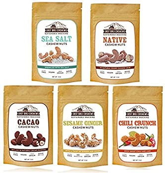 East Bali Cashews - Variety Box - 3 Ounce (Pack of 15)