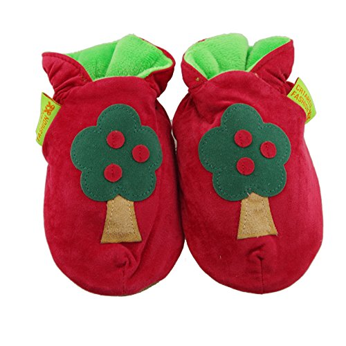 Thickened handmade Baby Toddler first walkers soft bottom shoes Tree Shoes childhood shoes 6-12 Months 12.5CM