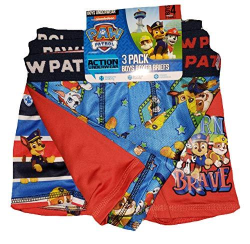 Paw Patrol Action Underwear 3 Pack Boxer Briefs - ()