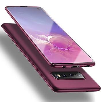 X-level Funda Samsung Galaxy S10, [Guardian Series] Suave TPU Gel Silicona Ultra Fina Anti-Arañazos y Protección a Bordes Phone Case Carcasa para ...