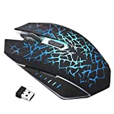 Best HP Bluetooth Mouse Receivers - Clearance Sale!JPJ(TM)1Pcs Fashion Rechargeable Wireless Silent Led Backlit Review