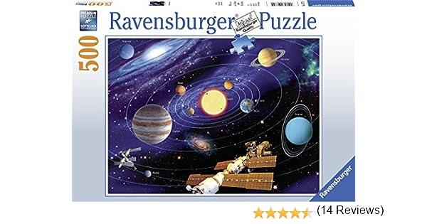 Ravensburger – Puzle Sistema Solar – 500 Piezas, 14775: Amazon.es ...