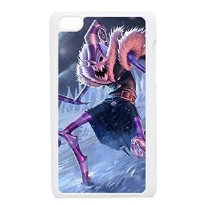 iPod Touch 4 Case White League of Legends Dark Candy Fiddlesticks Xjva