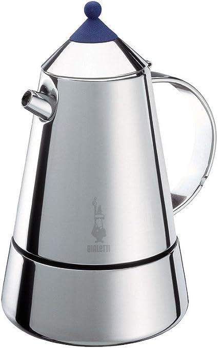 Bialetti MIA - Cafetera de Acero Inoxidable (para inducción, 6 ...