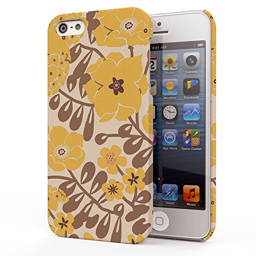 Koveru Back Cover Case for Apple iPhone 5S - Flower Petal Floral