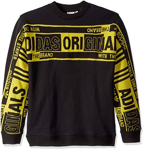 adidas Originals Men's Real Scarf Crewneck Sweatshirt