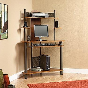 Tower Corner Computer Desk: Amazon.co.uk: Kitchen & Home