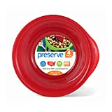 Preserve Everyday 16 Ounce Bowls, Set of 4, Pepper Red