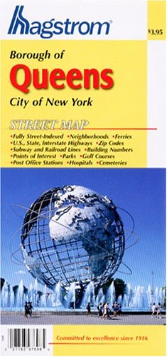 Queens County, N.Y. Pocket Map for sale  Delivered anywhere in USA