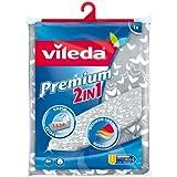 Vileda Premium 2en1 - Funda de planchar con estructura de 3 capas