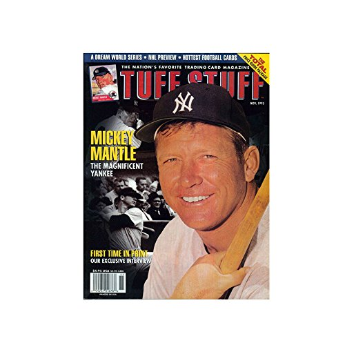 - Tuff Stuff Magazine Back Issue November 1995 Mickey Mantle