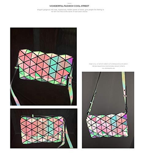 Elegante 2 Luminosa A Geometrica Tracolla Borsetta qACqnXZr