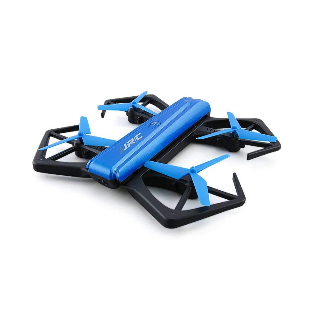 Gugutogo Cámara JJR/C H43WH WiFi FPV 720P HD Dron Disparador automático Quadcopter Plegable G-Sensor Mini RC Selfie Drone Quadcopter Azul con 1 bateria