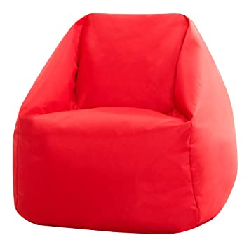 Phenomenal Bean Bag Bazaar Hi Rest Chair Kids And Teens Indoor Outdoor Childrens Beanbag Red Small Forskolin Free Trial Chair Design Images Forskolin Free Trialorg