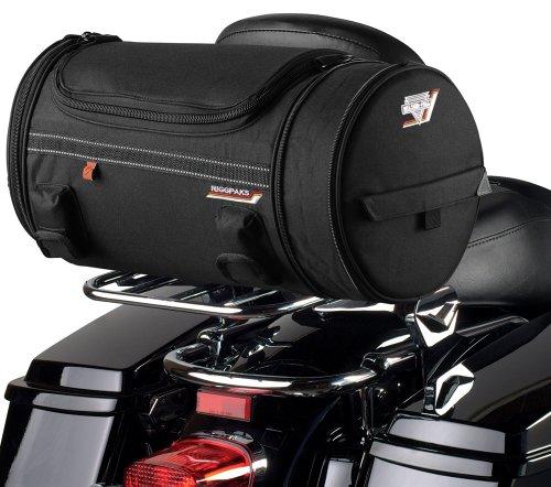 Nelson-Rigg CTB-250 RiggPak Black Expandable Roll Bag (Key Fobs Rider)