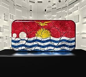 Funda Carcasa para HTC M8 Bandera KIRIBATI 03