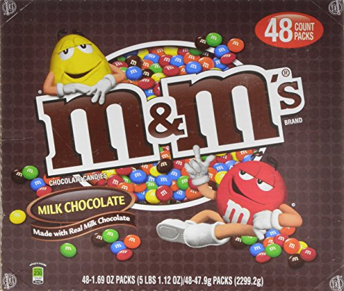 M&M 's Milk Chocolate Candies, 81.12 Ounce by M & M's