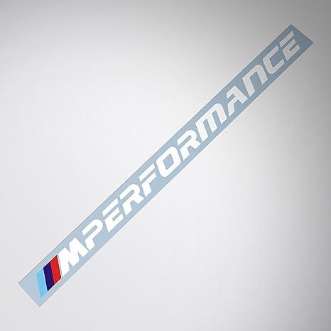 Demupai bmw m performance windshield decal windows sticker new font letter