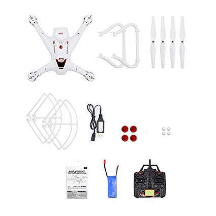 Amazon.es: Heaviesk X183 2.4G RC Drone Modo sin Cabeza Altitud ...