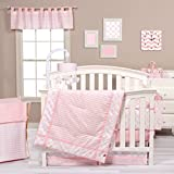 Trend Lab Pink Sky 3 Piece Crib Bedding Review and Comparison