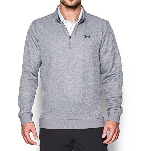 - Under Armour Men's Storm Fleece QZ Sweater, True Gray Heather, Medium