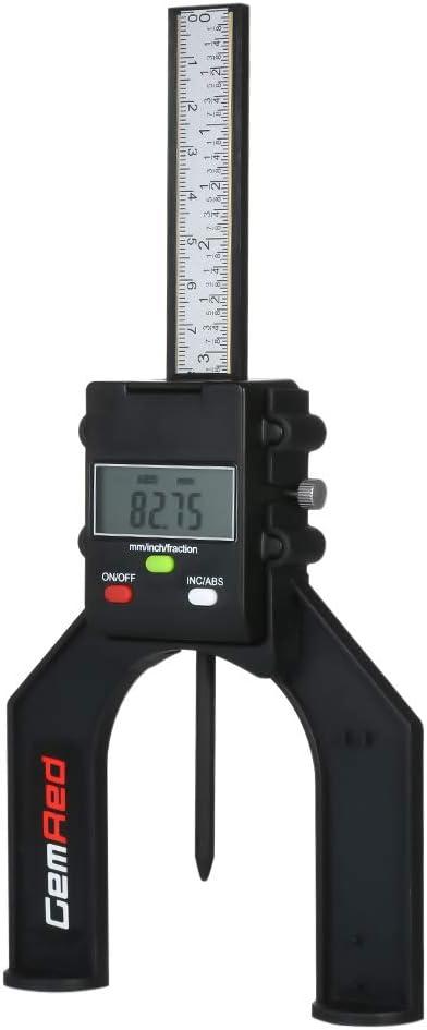Tiefenmesser,Baugger Digital Depth Gauge Depthometer Tiefenanzeige H/öhenanzeige