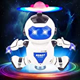 Toyshine Dancing Robot with 3D Lights and Music, Assorted Color