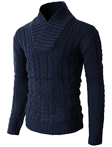 H2H Knitted Thermal Pullover Sweater