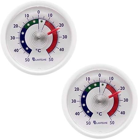 Kühlschrankthermometer Gefrierschrankthermometer 10 St Set blau Analog Lantelme