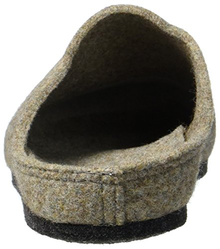 Da Pantofole wheat 604 Fischer Donna Aperte Wollfis Beige 6SSqPx4