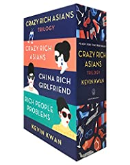 "Give the gift of the outrageous, funny, ""wickedly delectable"" (New York Times) Crazy Rich Asians series in a collectible box set!   NEW YORK TIMES BESTSELLER ∙ NOW A MAJOR MOTION PICTURE   New Yorker Rachel Chu does not know that her loving b..."
