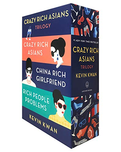 Book cover from The Crazy Rich Asians Trilogy Box Set by Kevin Kwan