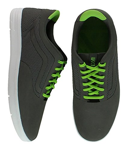 Vans Mens Lxvi Graph Sneakers Gargoylegreenflash 7.5
