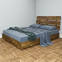 Nexera Nocce 2 Piece Queen Bedroom Set in Truffle