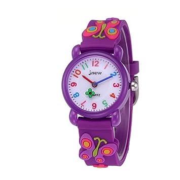Reloj para Niños, Regalo de Juguetes para Niña de 3-12 Años, CYMY Reloj Impermeable para ...